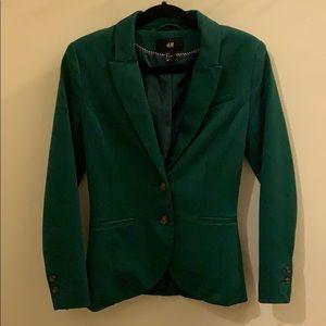 H&M Fitted Blazer - Green